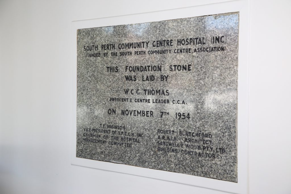 Our History | South Perth Hospital